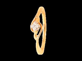 Solo Diamond Prong Set Diamond Ring