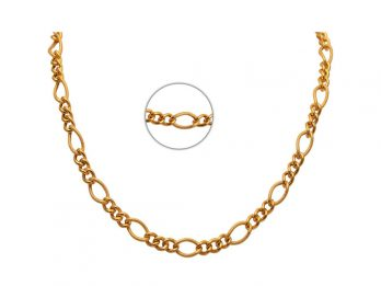 Curb Link Figaro Chain