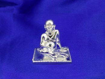 SHRI SWAMI SAMARTH SILVER IDOL